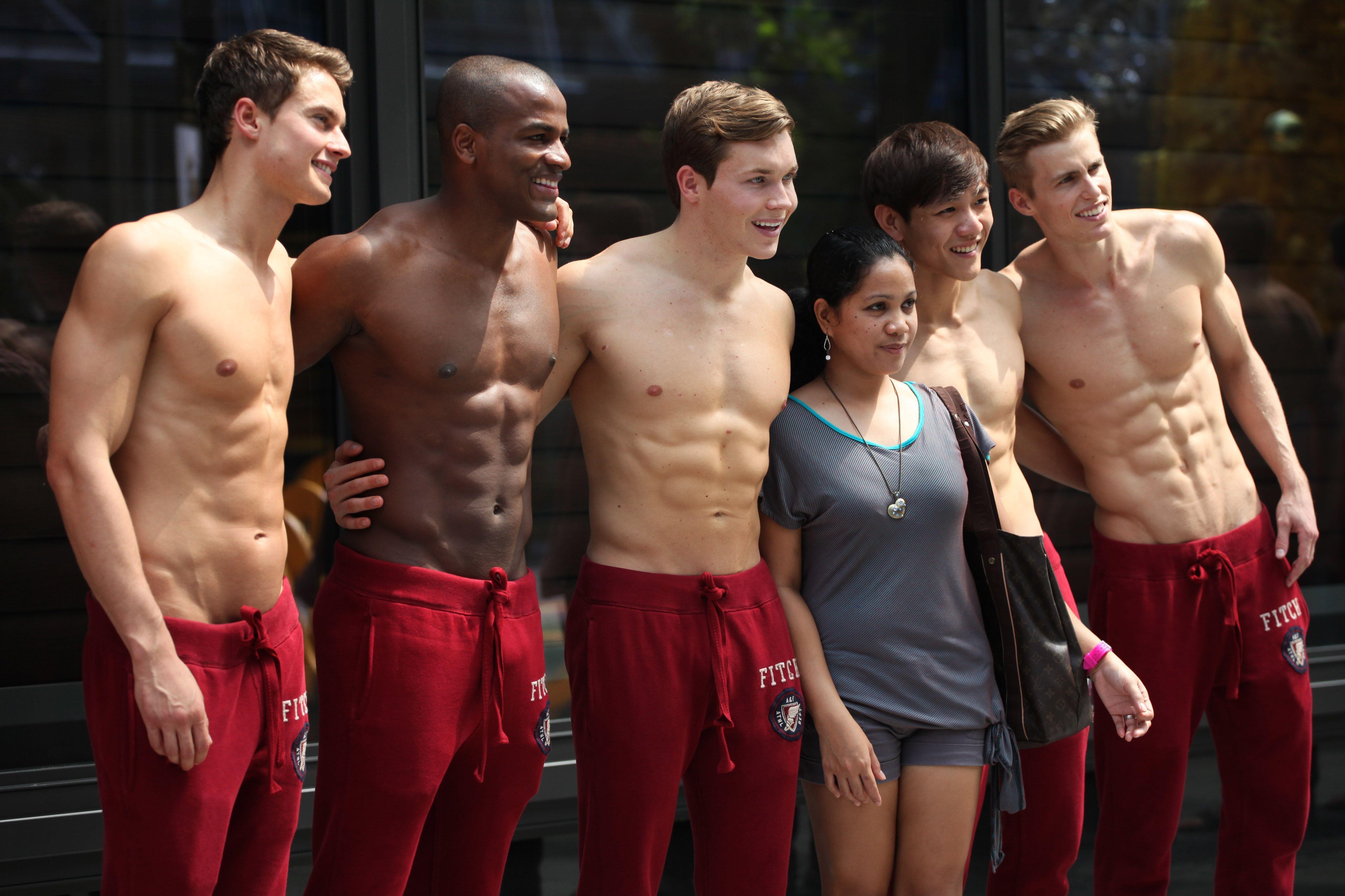 Gay hottest abercrombie models nude