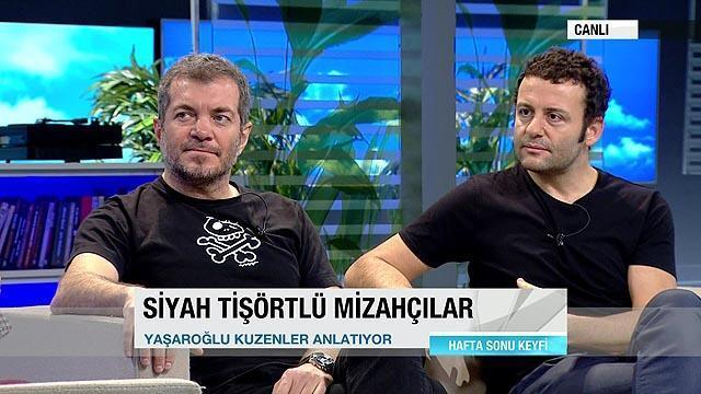 16 Kasım 2014 Pazar / Erdil Yaşaroğlu - Varol Yaşaroğlu - Hafta Sonu -  CNNTürk TV