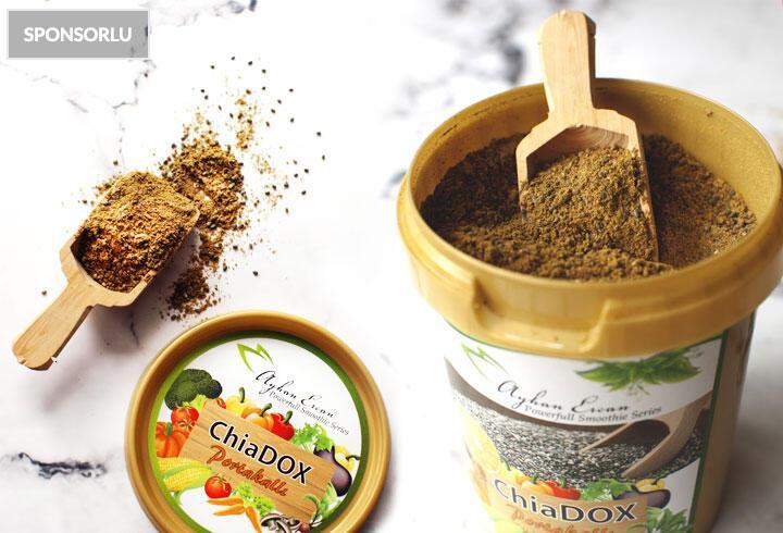 ChiaDox ile hem toksinlerden arının hem kilo verin
