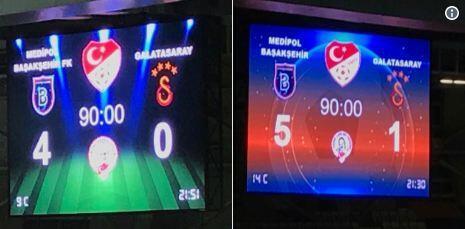 Başakşehir'den Galatasaray'a olay gönderme