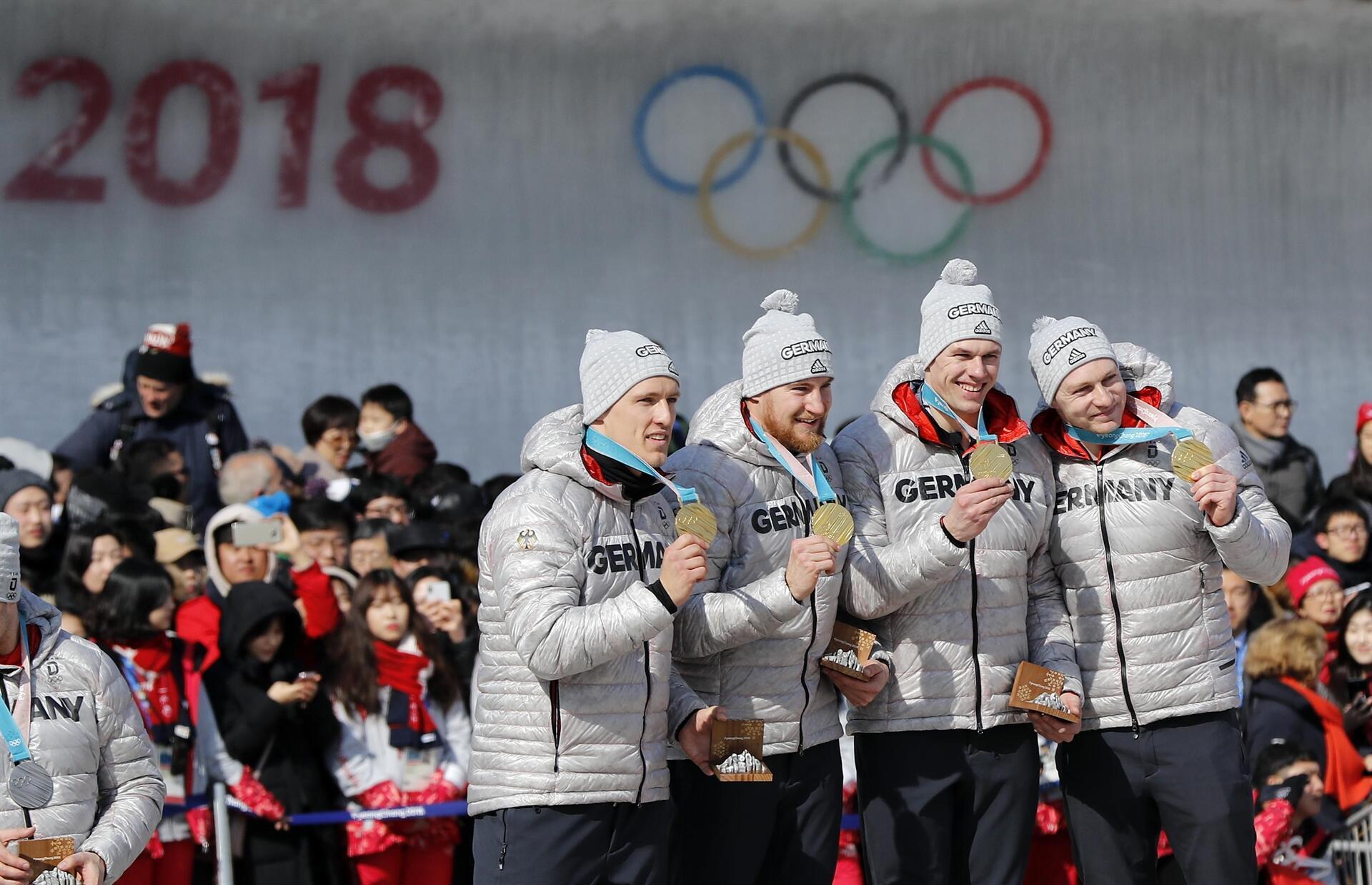 4'lü bobsled yarışında Almanlar kazandı