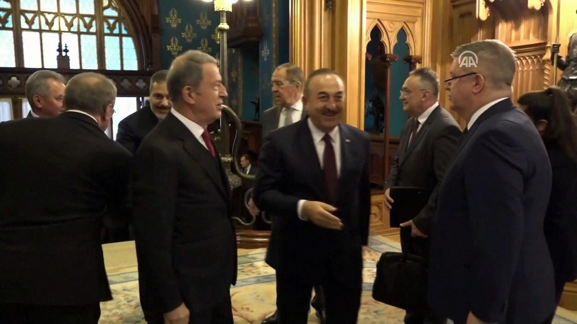 Son dakika... Moskova'da Hafter-Sarrac görüşmesi: İşte dakika ...