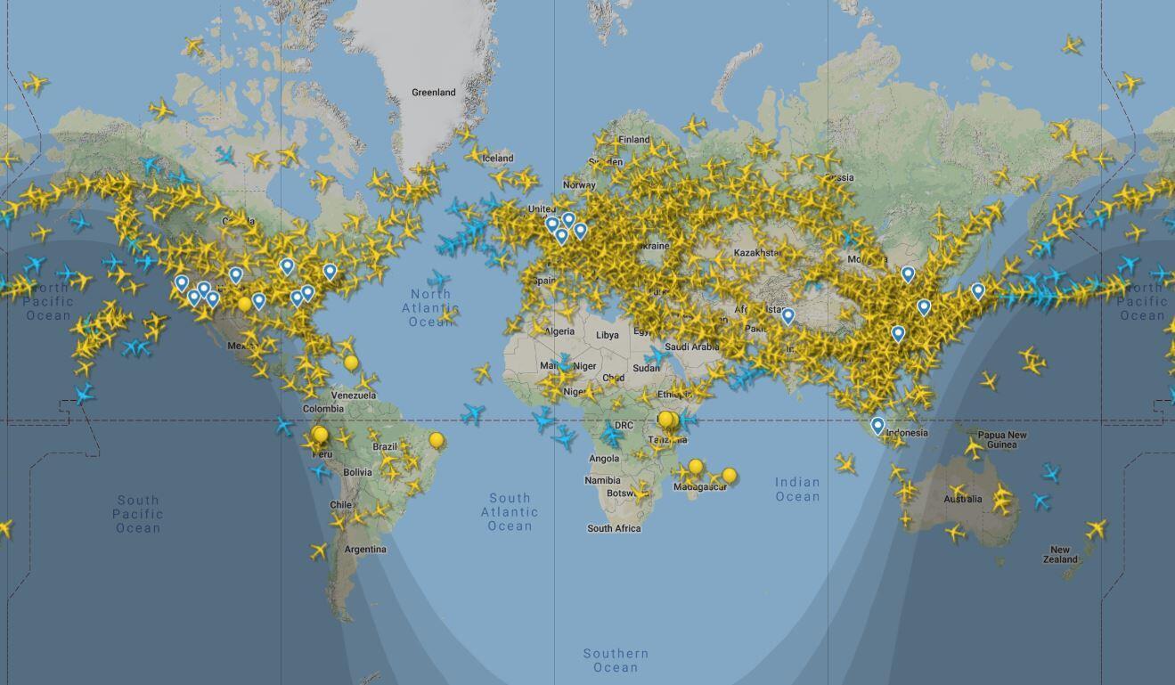 Dünyada günlük uçuş trafiğinde dikkat çeken gelişme