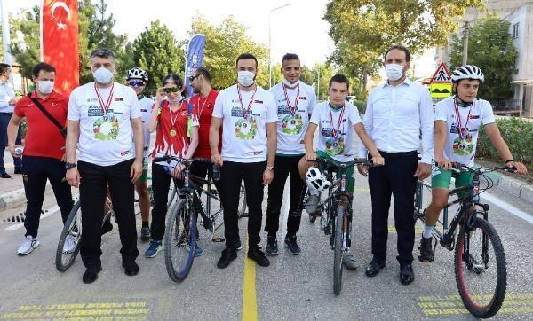 Kısa Parkur Bisiklet Turu gerçekleştirildi