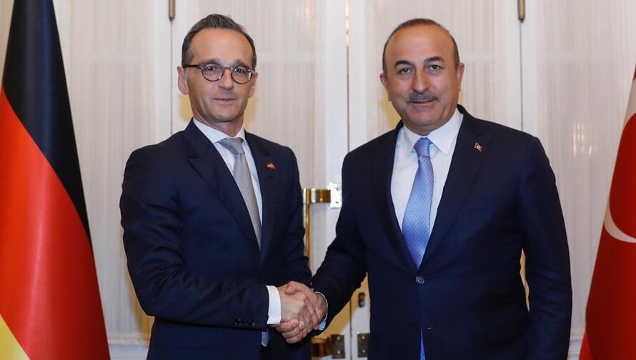 Son dakika... Dışişleri Bakanı Çavuşoğlu, Alman mevkidaşı Maas ile görüştü