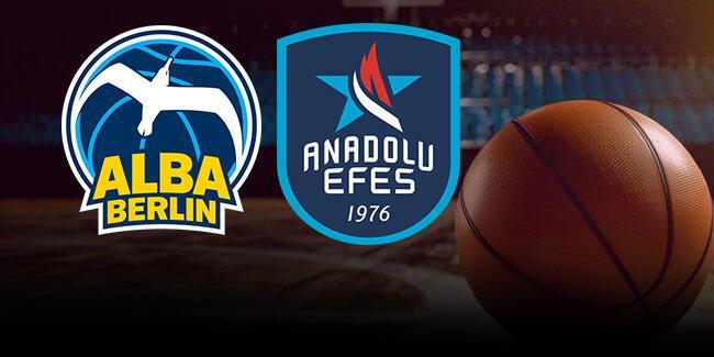 Alba Berlin Anadolu Efes basketbol maçı hangi kanalda, ne zaman, saat kaçta?