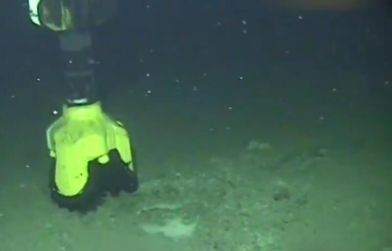 Müjdeyi Cumhurbaşkanı vermişti! Tuna-1 Kuyusu'ndan tarihi görüntüler…