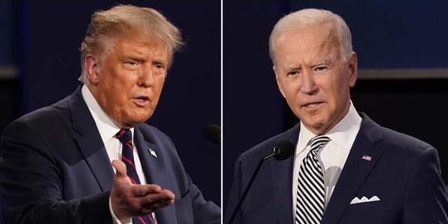 Trump ve Biden'ın test sonuçları belli oldu
