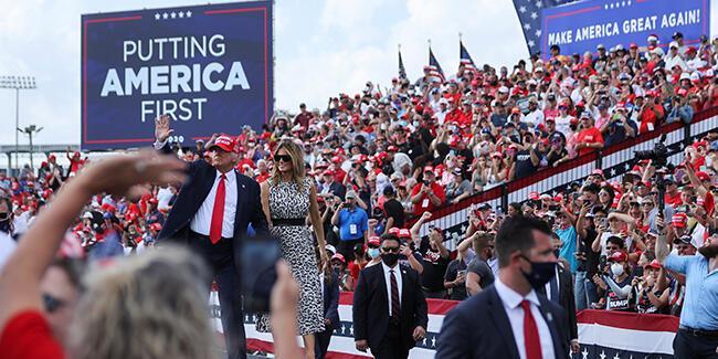ABD'de seçimlere günler kala başkan adayları Florida'da