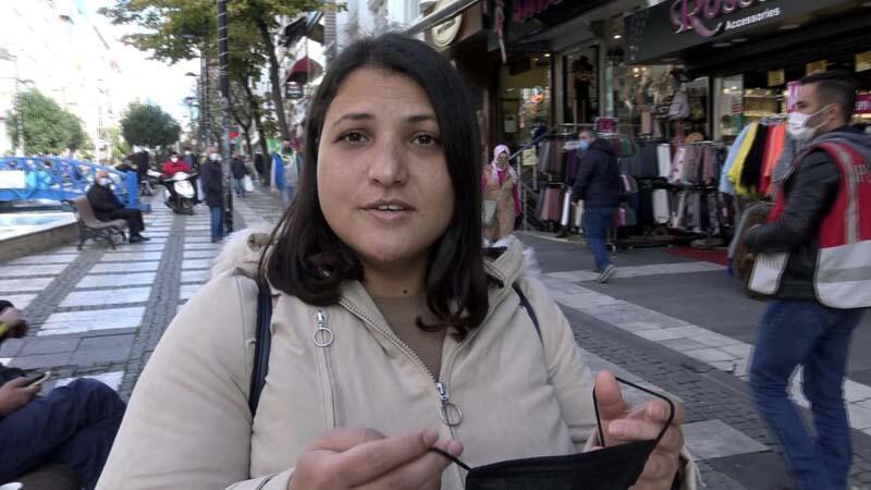 Avcılar'da polisin uyardığı maskesiz kadın: Allah beni koruyor