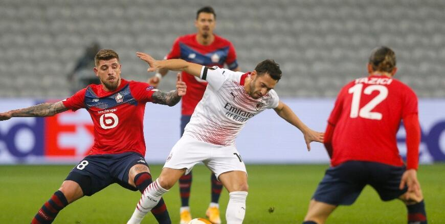Lille 1-1 Milan MAÇ ÖZETİ