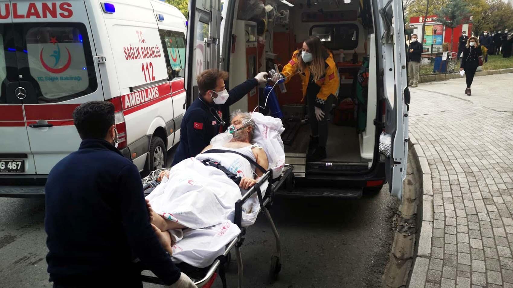 Malatya'da hastanede korkutan yangın
