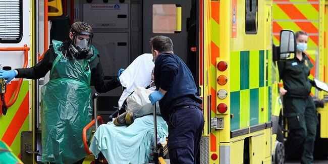 İngiltere'de koronavirüs kabusu! 24 saatte 1348 kişi öldü