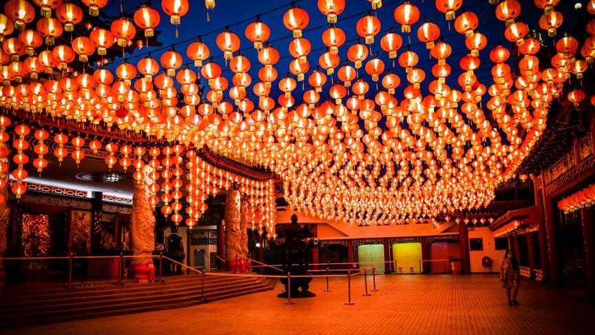 Malezya'da Çin Yeni Yılı kutlanıyor