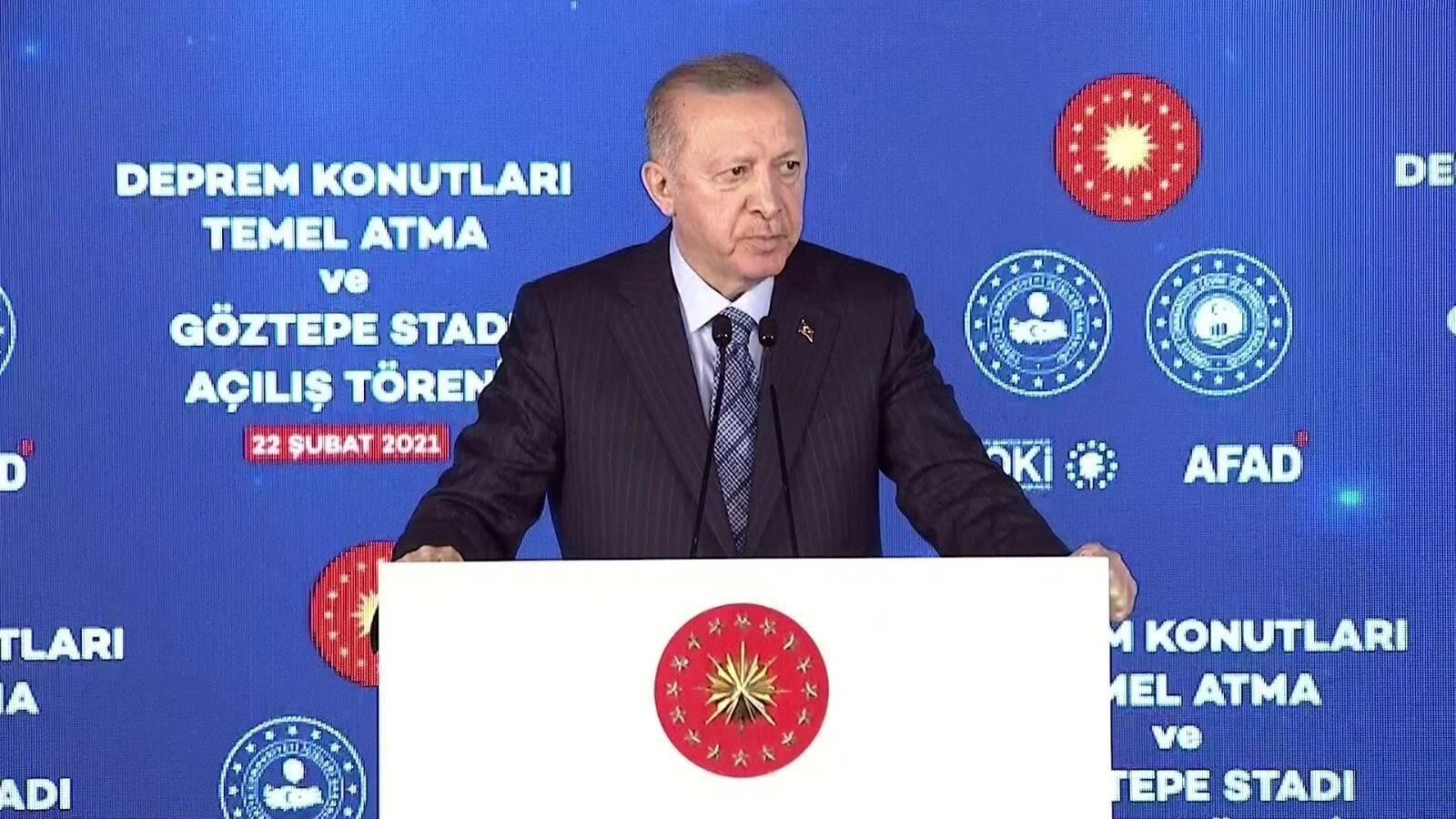 SON DAKİKA: Cumhurbaşkanı Erdoğan'dan İzmir mesajı