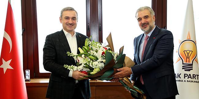AK Parti İstanbul Teşkilatı'nda devir teslim töreni yapıldı