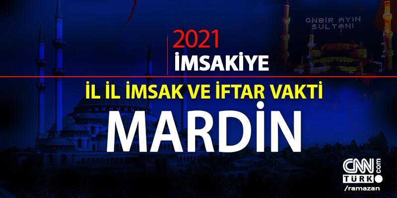 Mardin iftar vakti saat kaçta? Mardin imsakiye 2021… 13 Nisan Mardin iftar saati