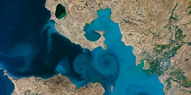 NASA'nın yarışmasını Van Gölü fotoğrafı kazandı