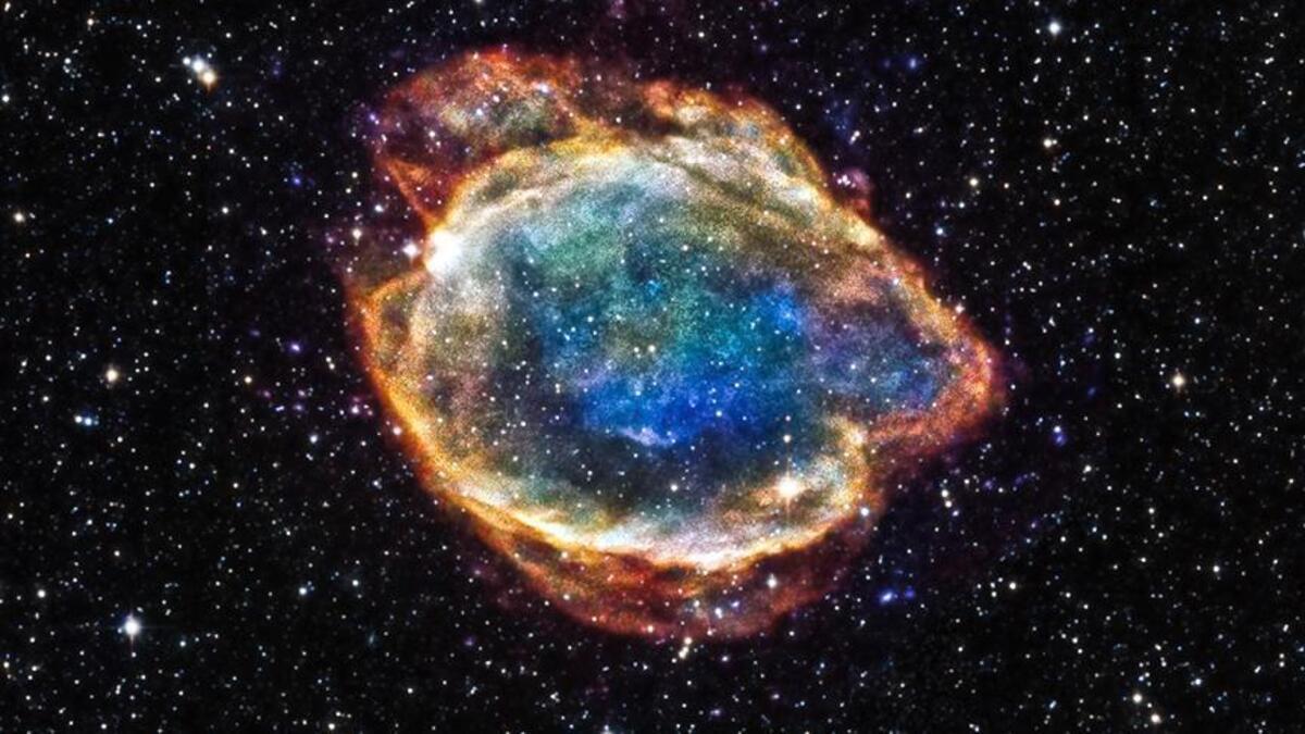 Hubble Uzay Teleskopu Süpernova Kalıntısı Gözlemledi…