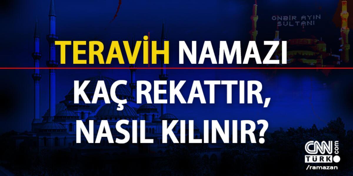 Teravih Namazi Kac Rekattir Nasil Kilinir Diyanet Bilgisi