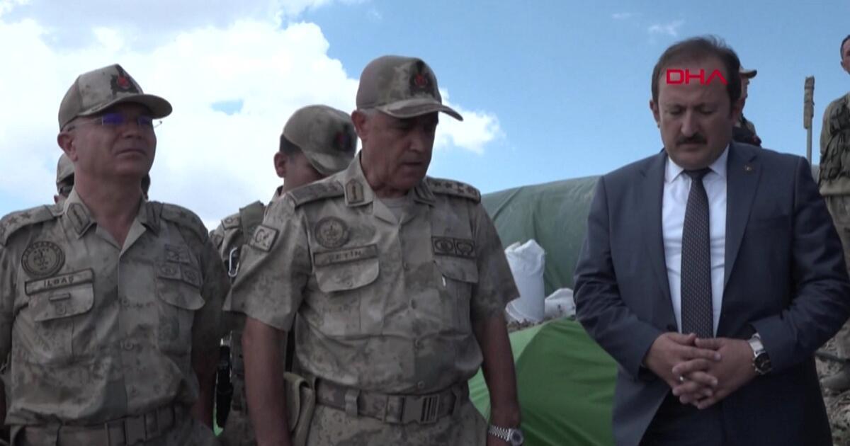 PKK sığınakları imha ediliyor