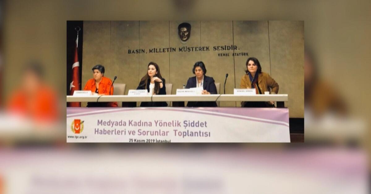 Kadın gazeteciler komisyonu açıklama yayımladı