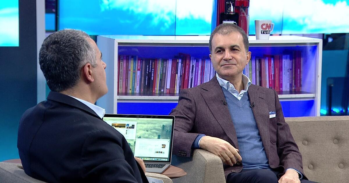AK Parti Sözcüsü Ömer Çelik'ten CNN TÜRK'te önemli açıklamalar