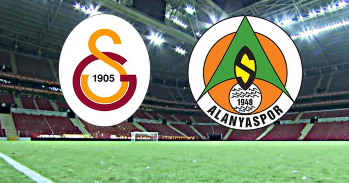 Galatasaray Alanyaspor maçı ne zaman, saat kaçta? (GS Alanyaspor)