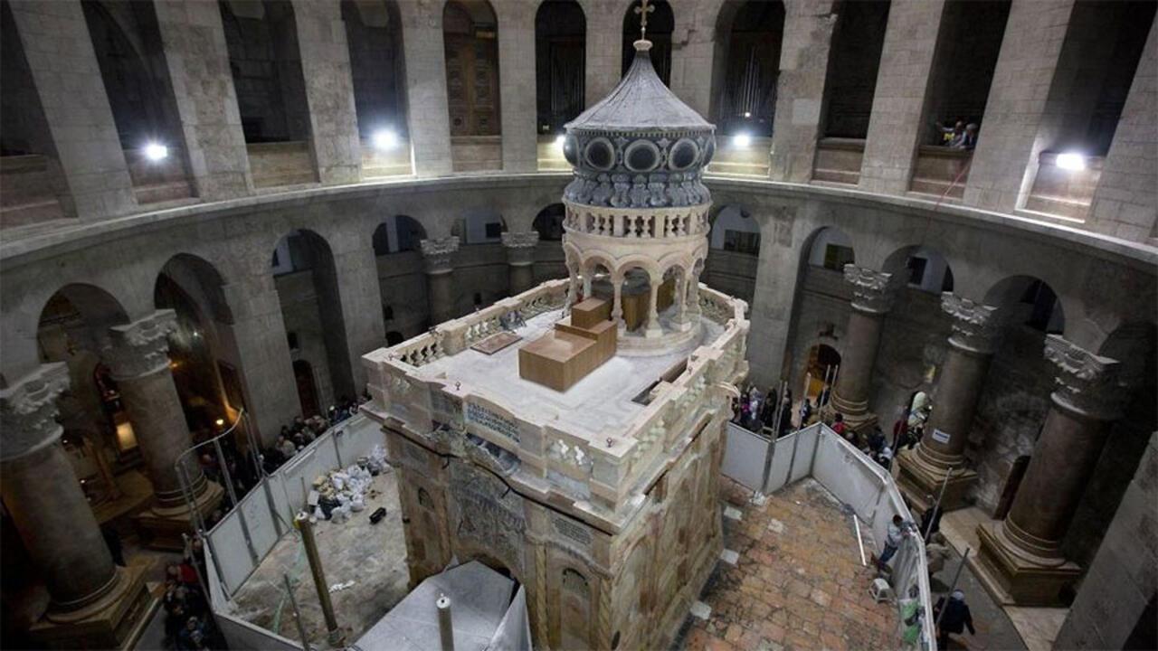 Kudüs'teki Kıyamet Kilisesi kapatıldı