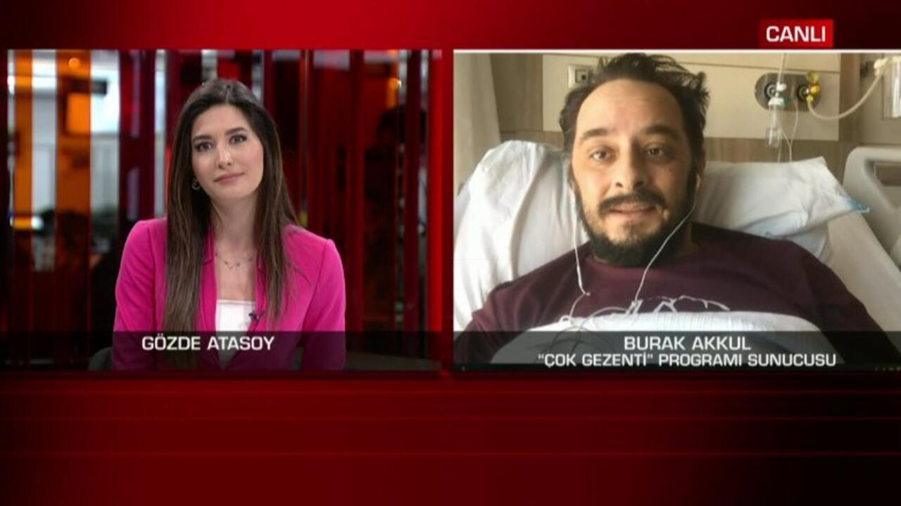 Burak Akkul yaşadıklarını CNN TÜRK'e anlattı - Günün Haberleri