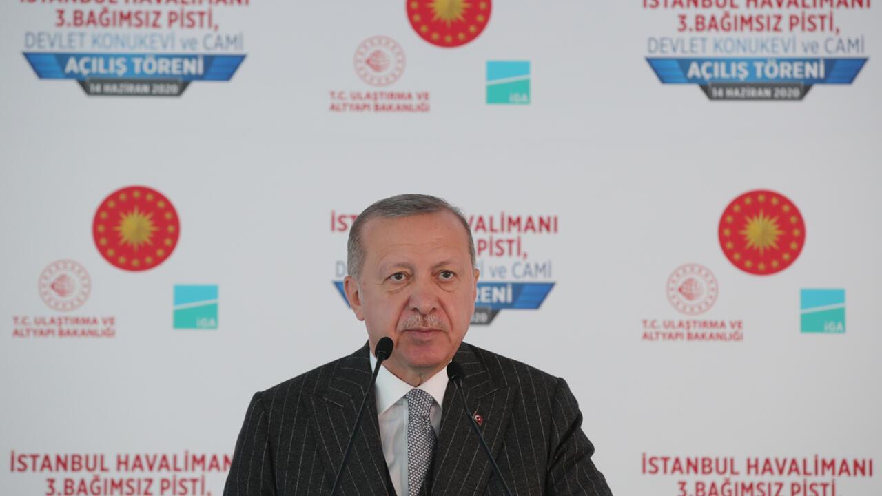 Son dakika haberi: İstanbul Havalimanı'nda 3. pist açılış töreni ...