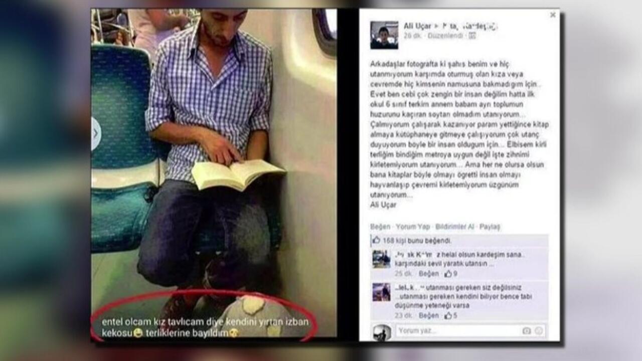 Fotoğrafı çekilip aşağılanmıştı. Ali Uçar roman yazdı | Video - Son Dakika  Haberleri İnternet