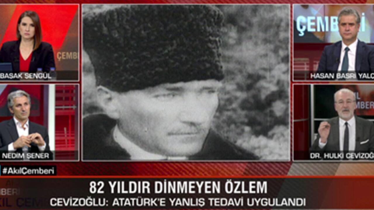 Hulki Cevizoğlu: Atatürk'e yanlış tedavi uygulandı | Video - Son Dakika Flaş Haberler