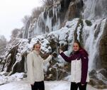 Son Dakika: Girlevik Şelalesi buz dağına dönüştü