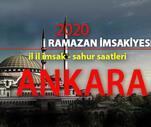 Son Dakika: Ankara iftar vakti - 2020 imsakiye: 27 Nisan Ankara iftar saati kaç?