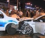Son Dakika: Alkollü sürücü polis noktasına daldı: 2'si polis 4 yaralı