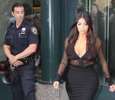 Polis Kim Kardashian A Bakakaldi
