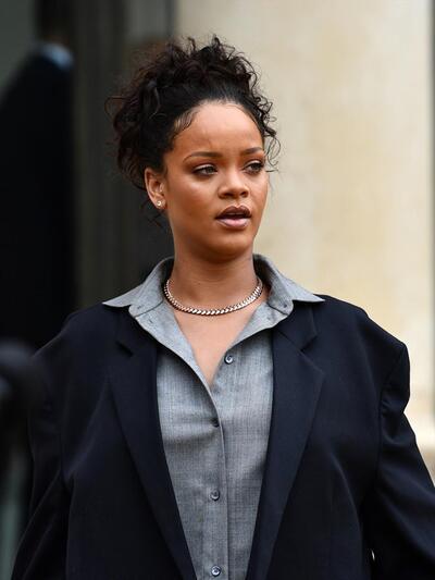 Rihanna Elysee Sarayi Nda Macron Ile Gorustu
