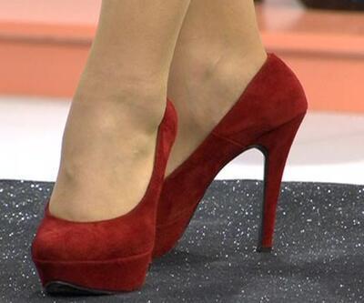 Meslektaşını topuklu ayakkabısıyla kör etti