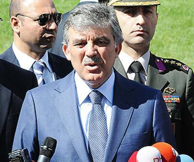 """Gül: """"Türkiye'nin savaş arzusu yok"""""""