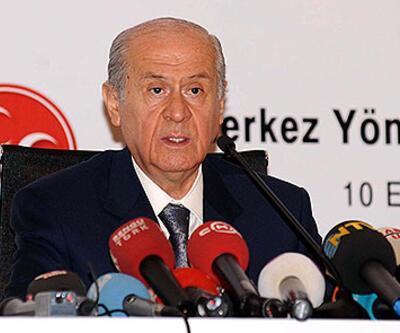"""Bahçeli: """"Süreç AKP'nin kucağında patladı"""""""