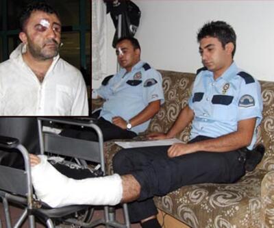 Karakolda kavga: 5 yaralı