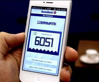 Şubeye gitmeden sıra aldıran ilk mobil uygulama!