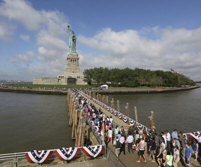 Özgürlük Anıtı 8 ay sonra ziyarete açıldı