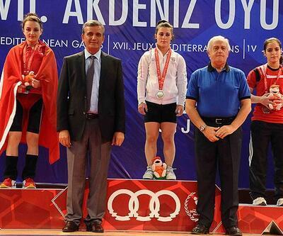 Sibel Özkan'dan gümüş madalya