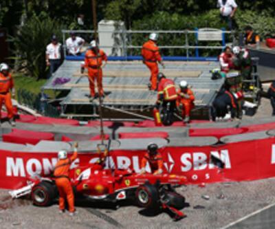 F1 Monaco İstanbul trafiğini aratmadı!
