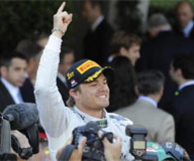 Nico Rosberg başladığı gibi bitirdi