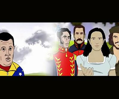 """Chavez cennette"" çizgi filmi"