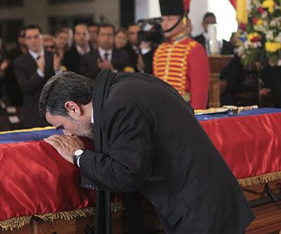 Chavez'in resmi cenaze töreni yapıldı