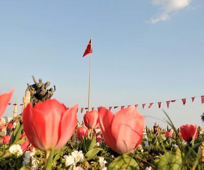 Antalya'da erken lale dönemi